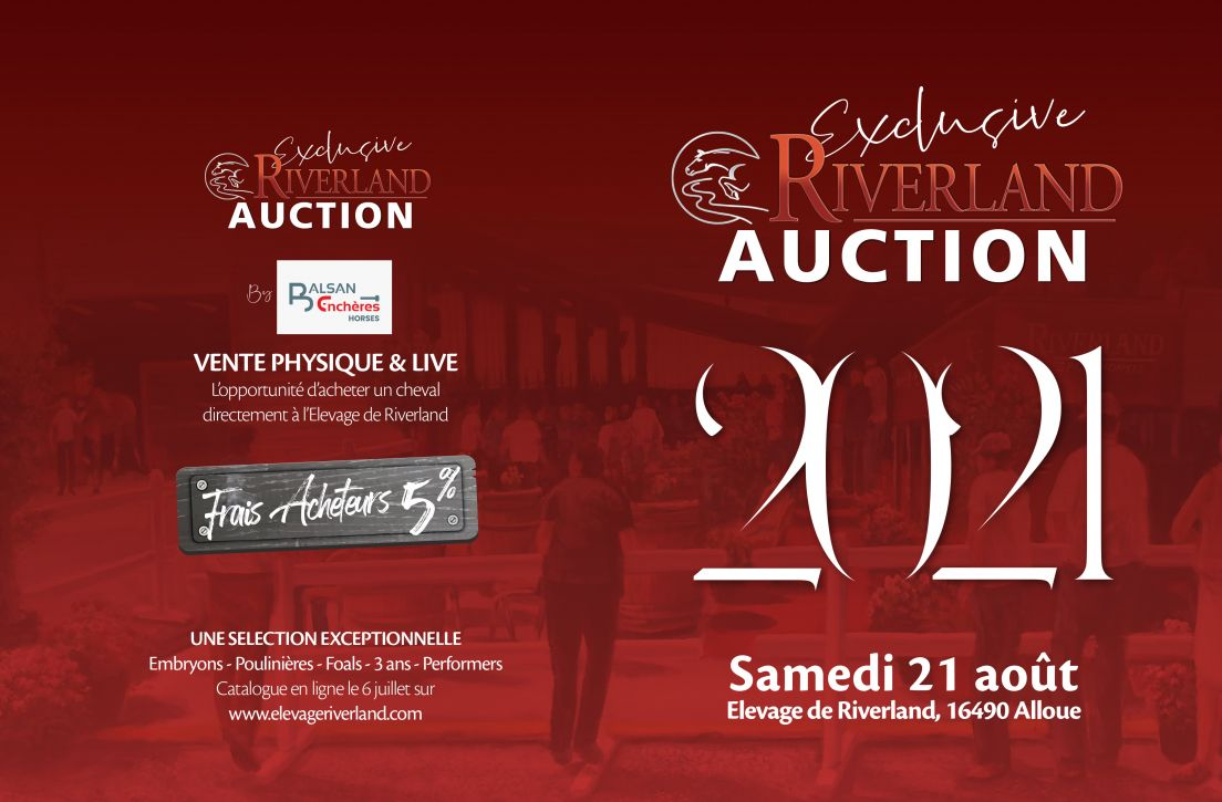 exclusive riverland auction